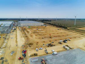 plateforme logistique Hugues Construction